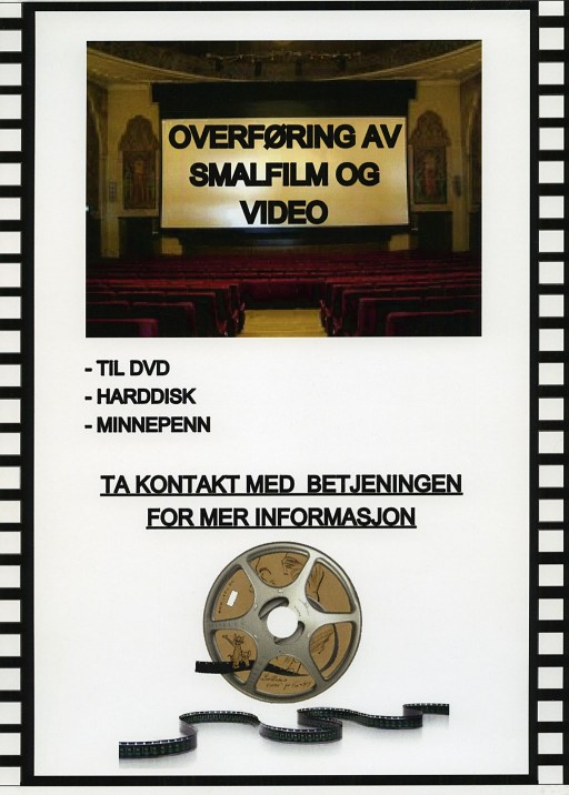 smalfilm til dvd